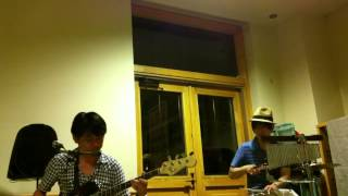 Blue / Hitoshi Arai Acoustic Band Set *20140703 @東川 道の駅 ひがしかわ 道草館
