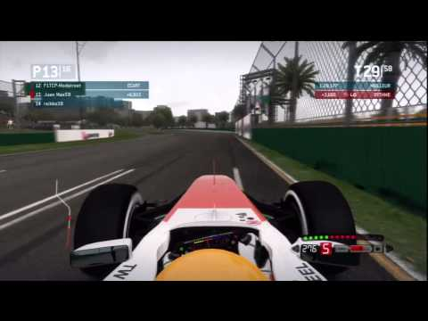 TEAM F1 - S14 F1 - Melbourne 100%