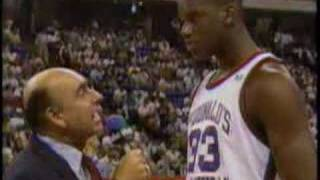 Shaquille O'Neal Interview at 1989 McDonald's All American