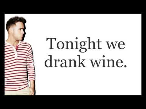 Olly Murs - What A Buzz Lyrics (On screen)