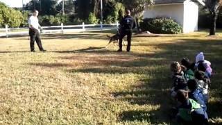 Homestead  Police K-9 Unit At Kingswood Montessori Academy,schools , Preschools ,homestead,florida