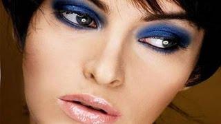 видео Голубой - макияж в голубых тонах