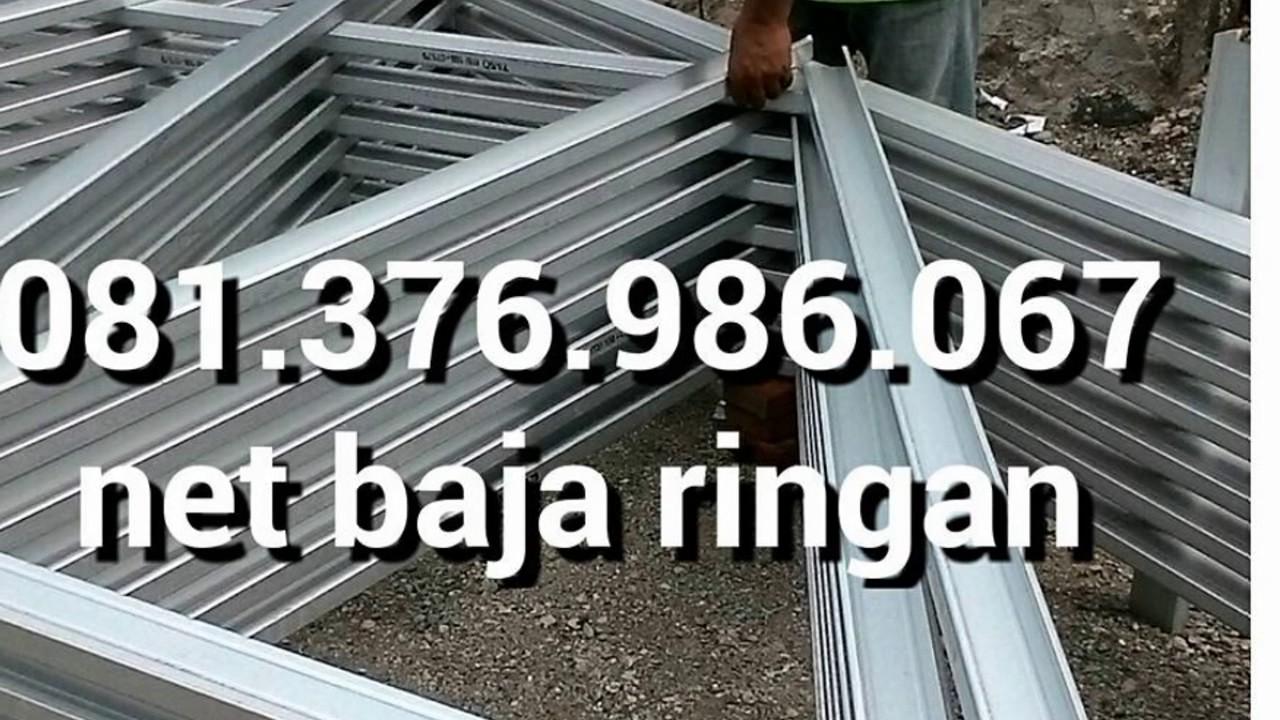 harga baja ringan murah di tangerang hp 081 376 986 067 canopy