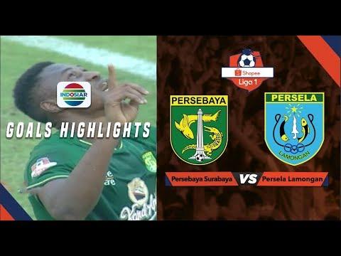 Persebaya Surabaya 3 Vs Persela Lamongan 2 Goal