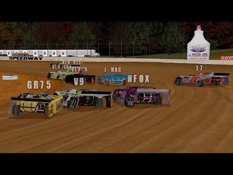 Ice Breaker 40 @ Brownstown Speedway - Dirt Track Racing 2 (PC)
