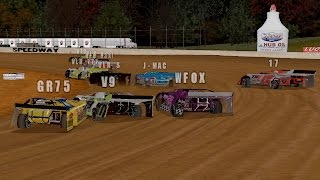 Ice Breaker 40 @ Brownstown Speedway - Dirt Track Racing 2 (PC)