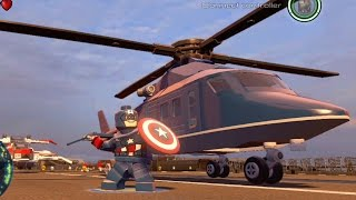 lego marvel s avengers all 25 playable aircraft vehicles   free roam gameplay hd 1080p