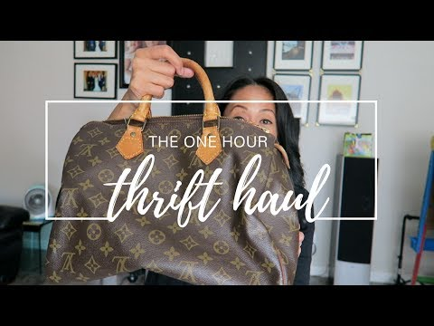 BASIC: That time I found Louis Vuitton at the Goodwill Thrift Store!