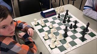 8 Year Old's Endgame Technique Is Savage! Golan vs. Red Shirt