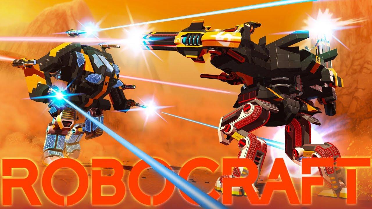 Robocraft Royale - Top 2 Finish! - Robocraft Meets Battle ...