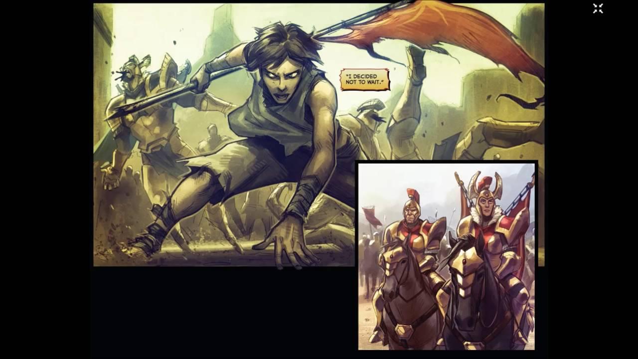 Dota 2 comic - Tip of the spear video! Legion Commander ...
