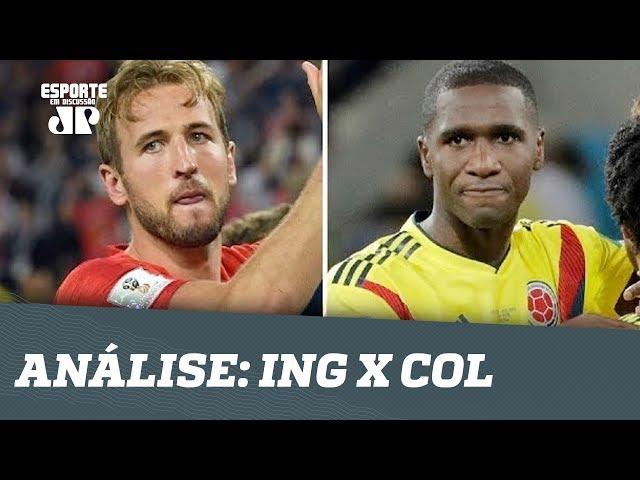Inglaterra ELIMINA Colômbia nos PÊNALTIS! Veja ANÁLISE!