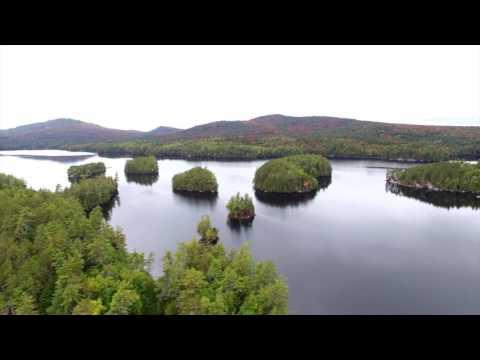 Bluff Island In Lower Saranac Lake NY