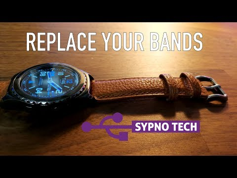 Fullmosa Quick Release Leather Watch Band Axus Genuine Leather Watch Strap 18mm, 20mm, 22mm or 24mmиз YouTube · Длительность: 3 мин46 с
