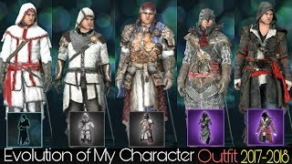 Evolution of Assassin Creed Outfit 2017-2018