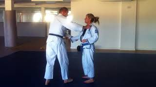 Judo Class Lift and Carry.