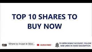 Top 10 Shares To Buy   Top 10 Shares To Invest   Value Shares to Invest   Quality Shares to Invest