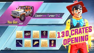 NEW SUPPLY CRATES | 130 SUPPLY CRATES OPENING TRICK | PUBG MOBILE