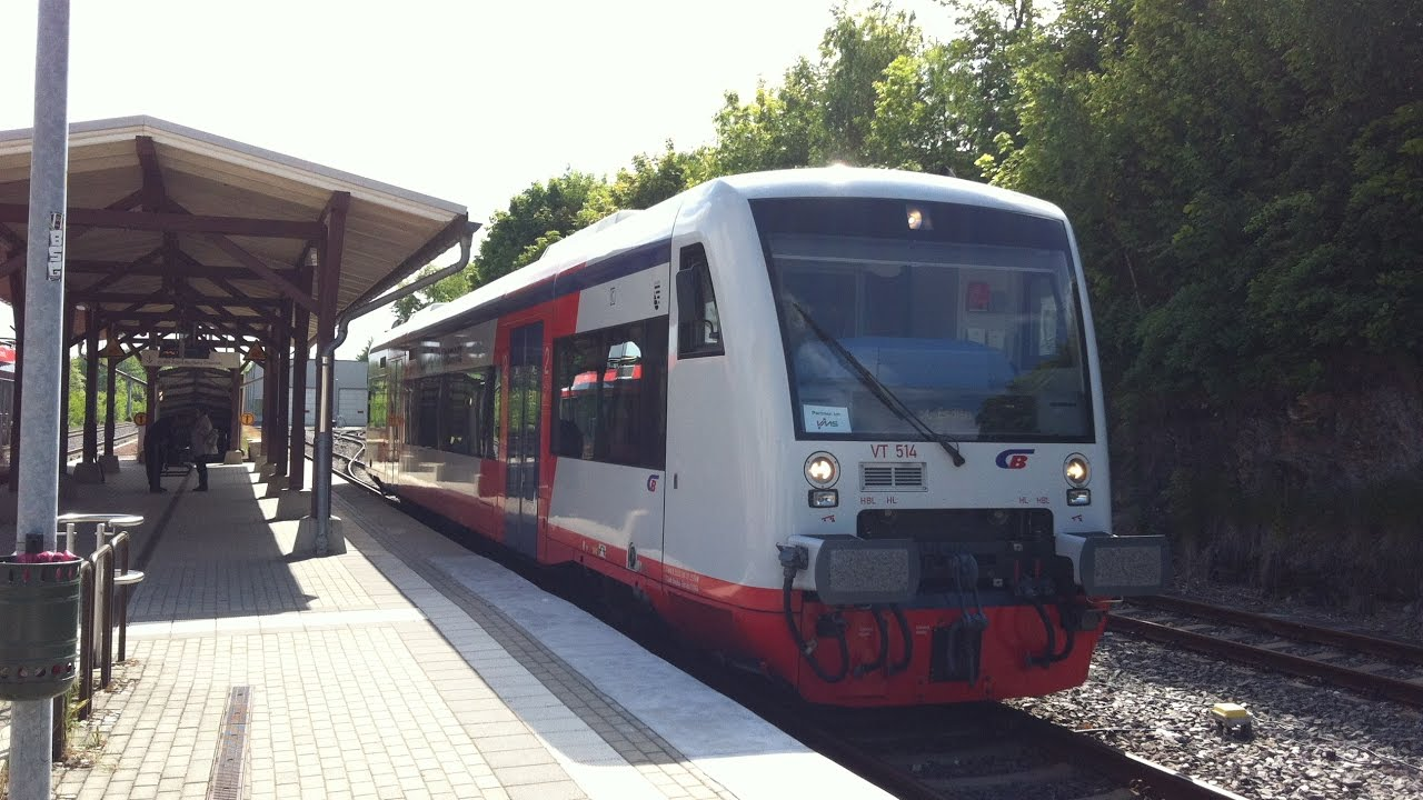 Führerstandsmitfahrt City Bahn Chemnitz Von Stollberg Nach Oelsnitz