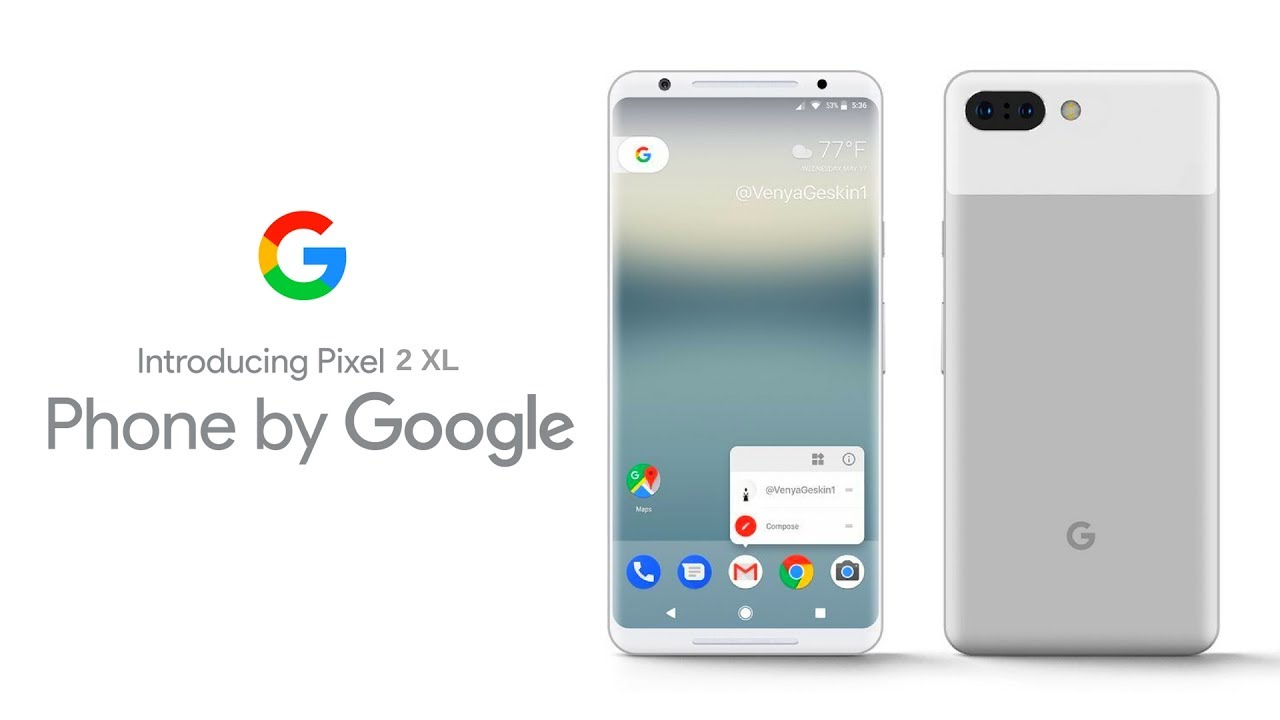 Google Pixel 2 XL with Dual Camera?  YouTube