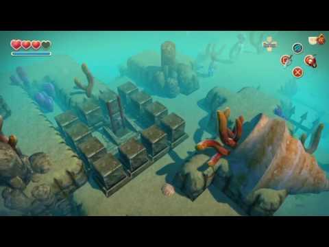 Oceanhorn Gillfolk's Drop - Into The Deep Cove/Knowledge Of The Emblem Of Ocean