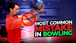 The Most Common Mistake In Bowling. Improve Your Game With This Drill.