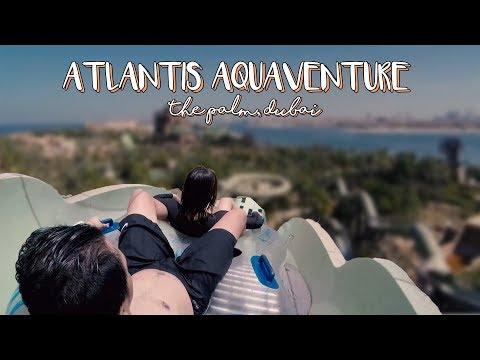 DUBAI TRAVEL VLOG: ATLANTIS AQUAVENTURE WATERPARK | April 2018 | loveCHARMS