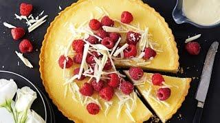White Chocolate & Mango Tart | Easy Tart Recipe | Bake With Atul Kochhar