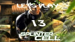 Lets Play Splinter Cell Pandora Tomorrow Part 13 The TV Station