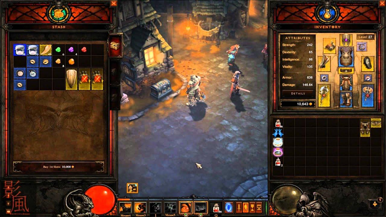 Diablo 3 crafting corner 2 blacksmith and jeweler act for Diablo 3 crafting items