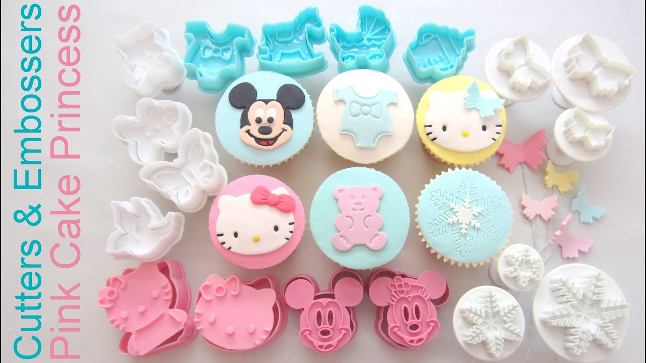 How To Use Cutters Embossers For Cupcake Decorating Product