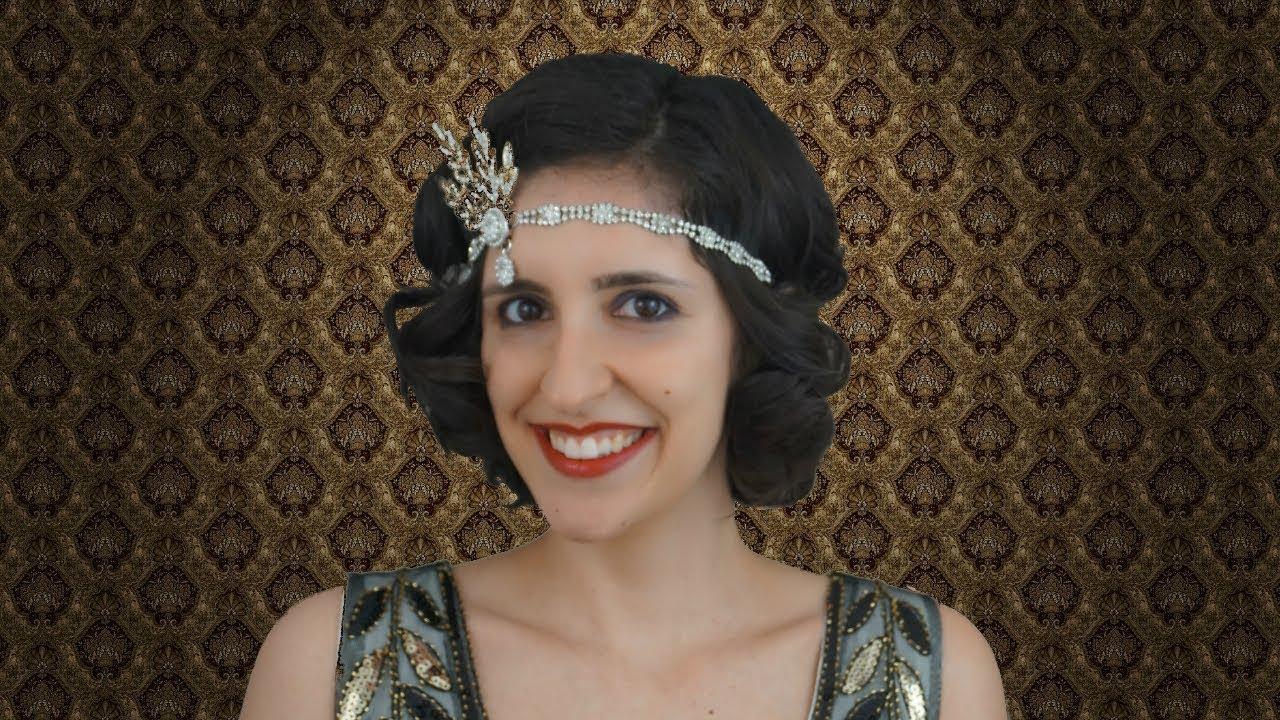 Peinado Y Maquillaje Anos 20 El Gran Gatsby Flapper Girl Youtube