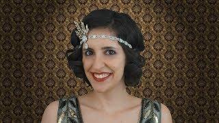 Peinado y Maquillaje Años 20 - El Gran Gatsby, Flapper Girl