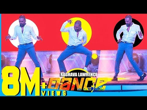 Raghava Lawrence's Cool Dance Moves for Thalaivar Rajinikanth at Chennai Concert""