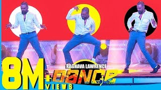 "vuclip Raghava Lawrence's Cool Dance Moves for Thalaivar Rajinikanth at Chennai Concert"""