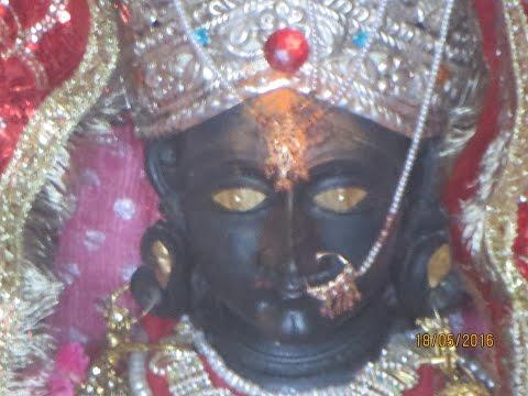 Live Eyes of Kali Mata - Durga Goddes at Hari Parbat Srinagar - Must View