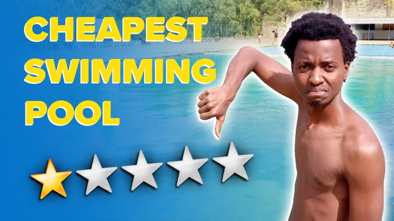 The CHEAPEST SWIMMING POOL in the WORLD (Review) | Colin Klain