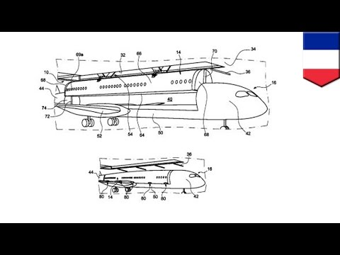 Airbus files patent for removable aircraft cabins to reduce plane turnaround time - TomoNews