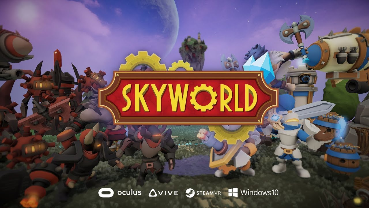 Skyworld reinvents classic strategy gameplay for VR