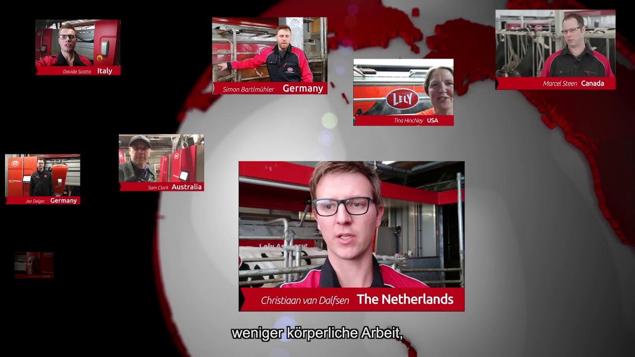 Lely Astronaut A5 – Ein Jahr Erfahrungen – video 8 (DE)