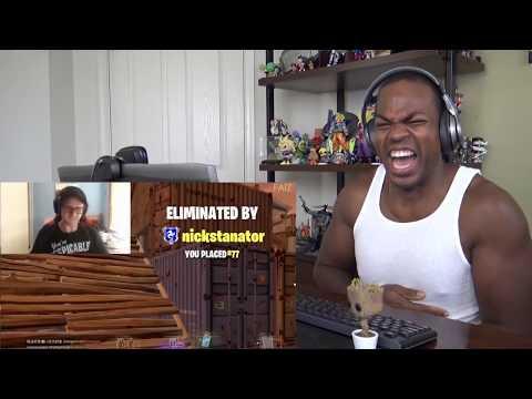 Fortnite Rage Compilation #1 (RIP KEYBOARDS & MONITORS) - REACTION!!!