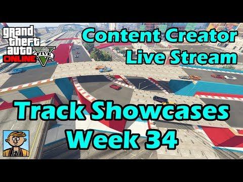GTA Race Track Showcases (Week 34) [PC] - GTA Content Creator Live Stream