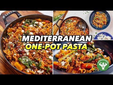 Easy One Pot Mediterranean Pasta Recipe