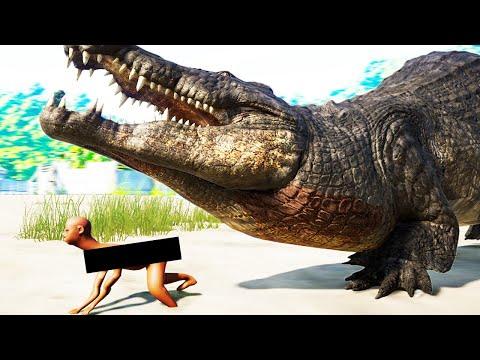 CURSED DEINOSUCHUS BATTLE ROYALE in Jurassic World Evolution |
