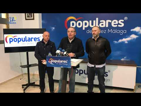 Paco Delgado, PP Vélez Málaga, presenta una moción sobre dotación a la policía local.