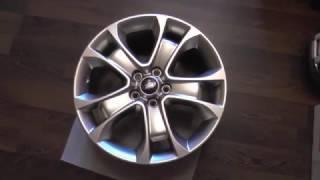оригинальные литые диски на Ford Kuga