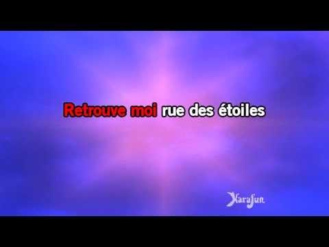 Karaoké Rue Des étoiles - Grégoire *