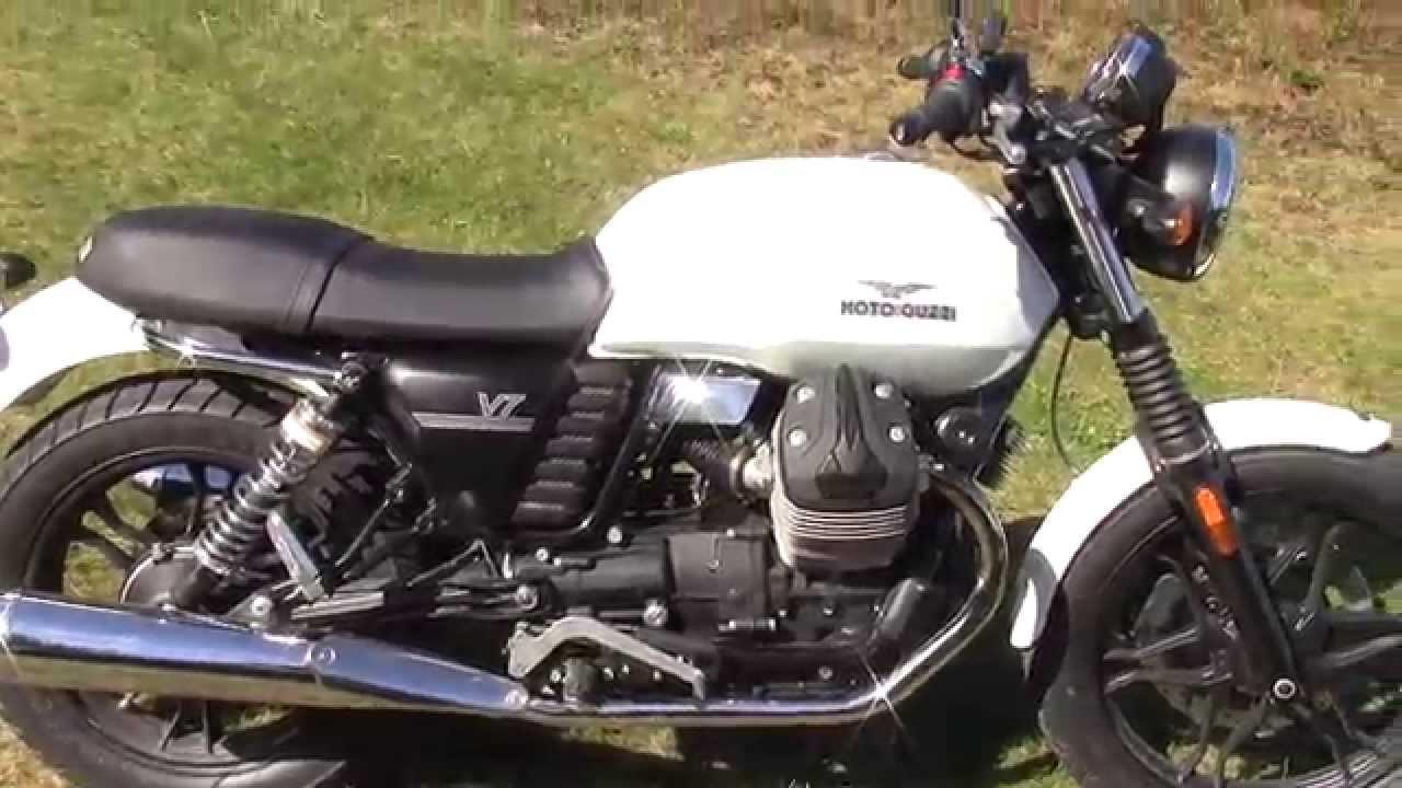 2014 Moto Guzzi V7 Stone - YouTube