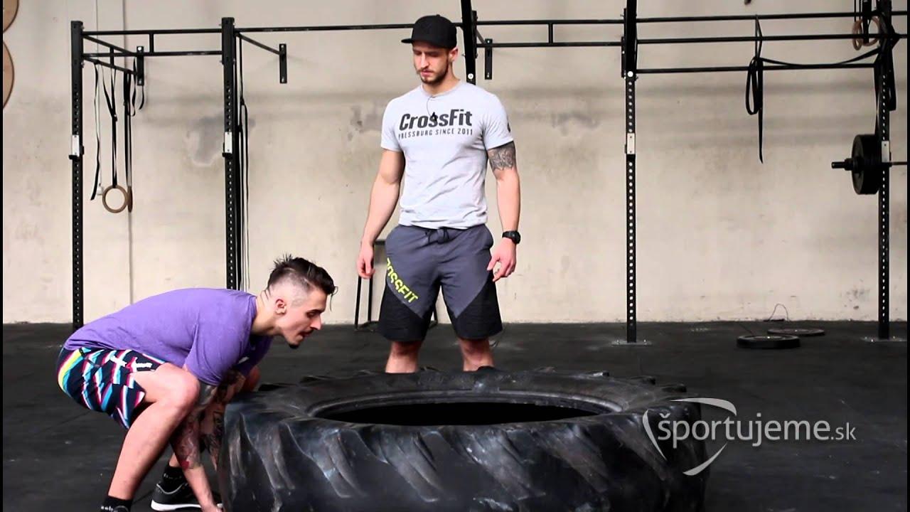 46fb30ce9 Prehadzovanie pneumatiky – Základy pre CrossFit #23 - YouTube