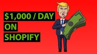Easiest Way To Make $1,000/Day w/ Shopify Drop Shipping